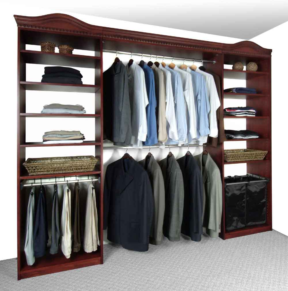 Closet organizers closet systems pictures solidwoodclosets Pictures of closet organizers