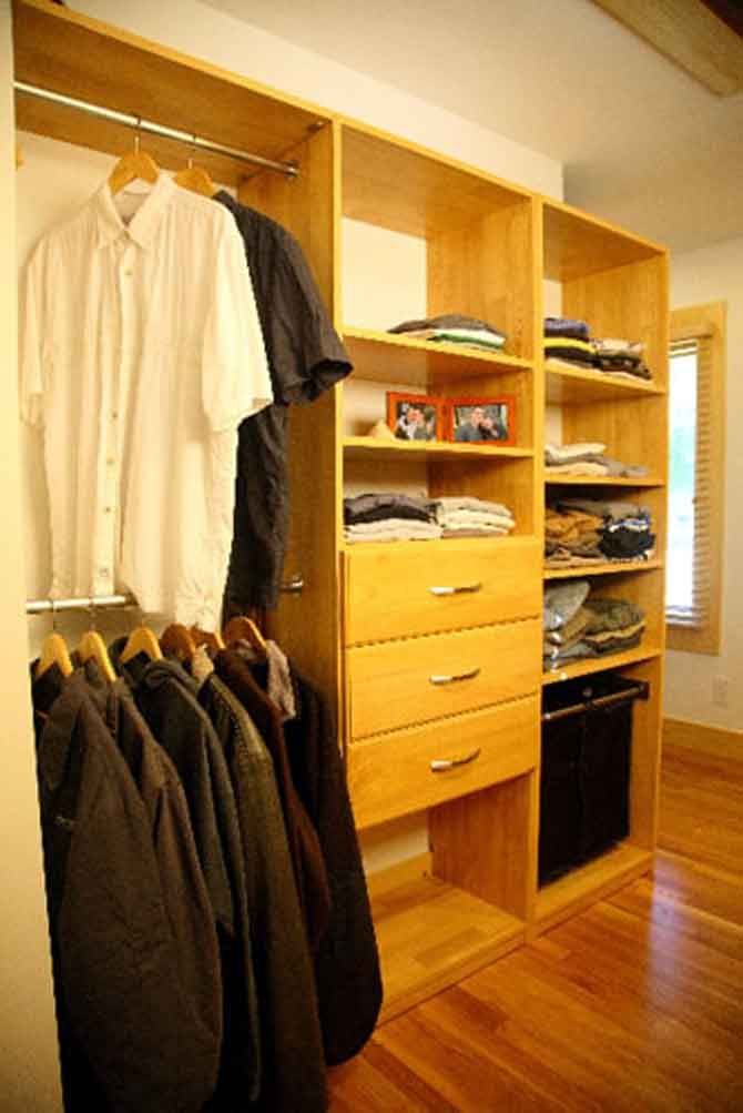 Closet Hamper and Drawer