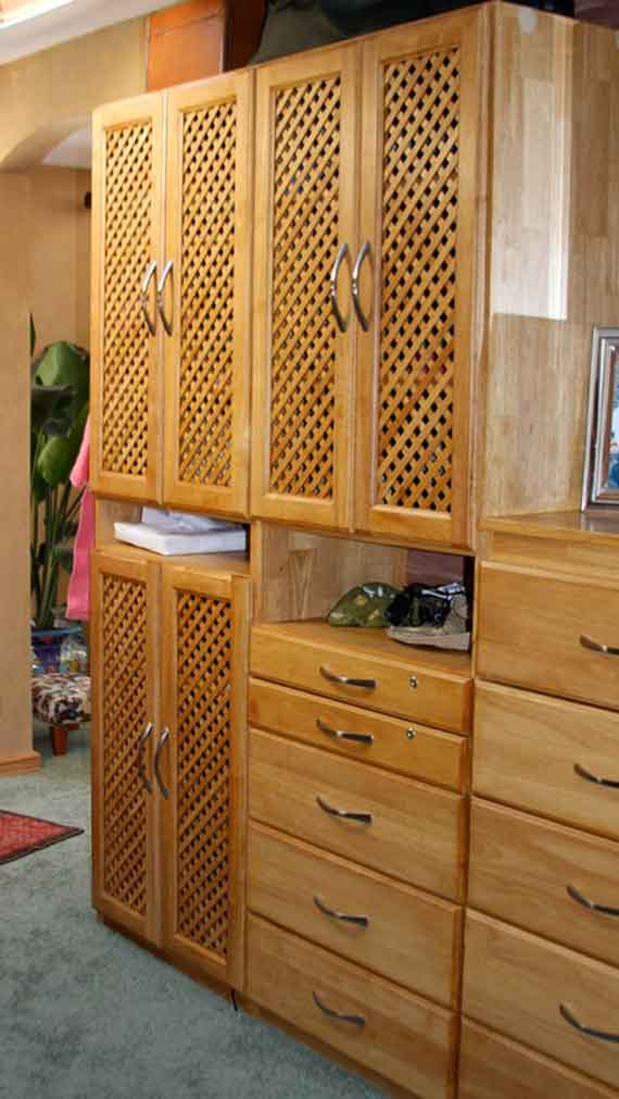 Closet Lattice Doors