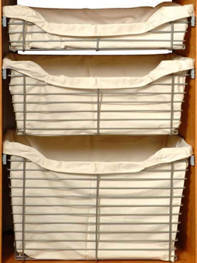 Closet Organizers with Baskets