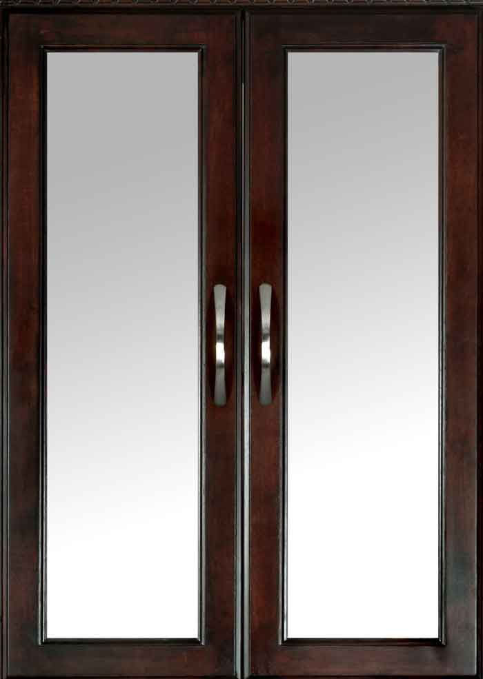 Closet System Frosted Glass Doors