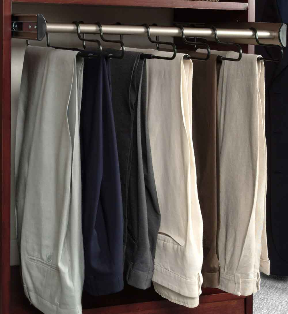 Closet Organizer Pants Rack