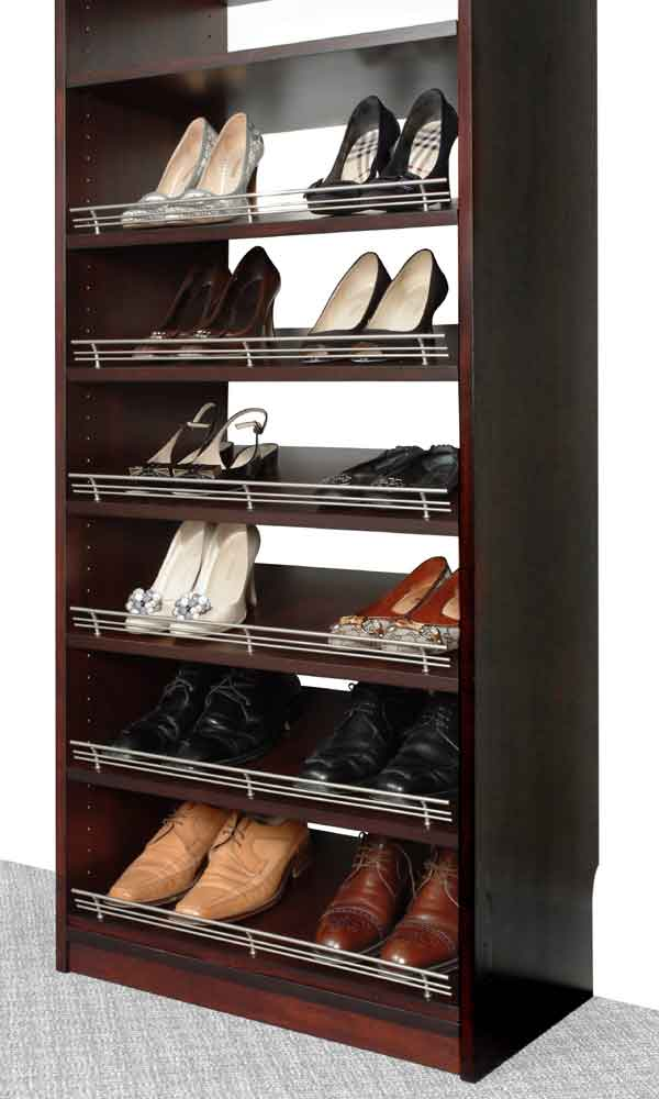 Shoe Rack with Shoe Fences
