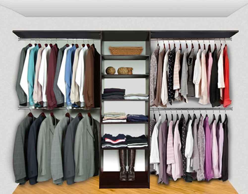 Closet System Pre-Config 1