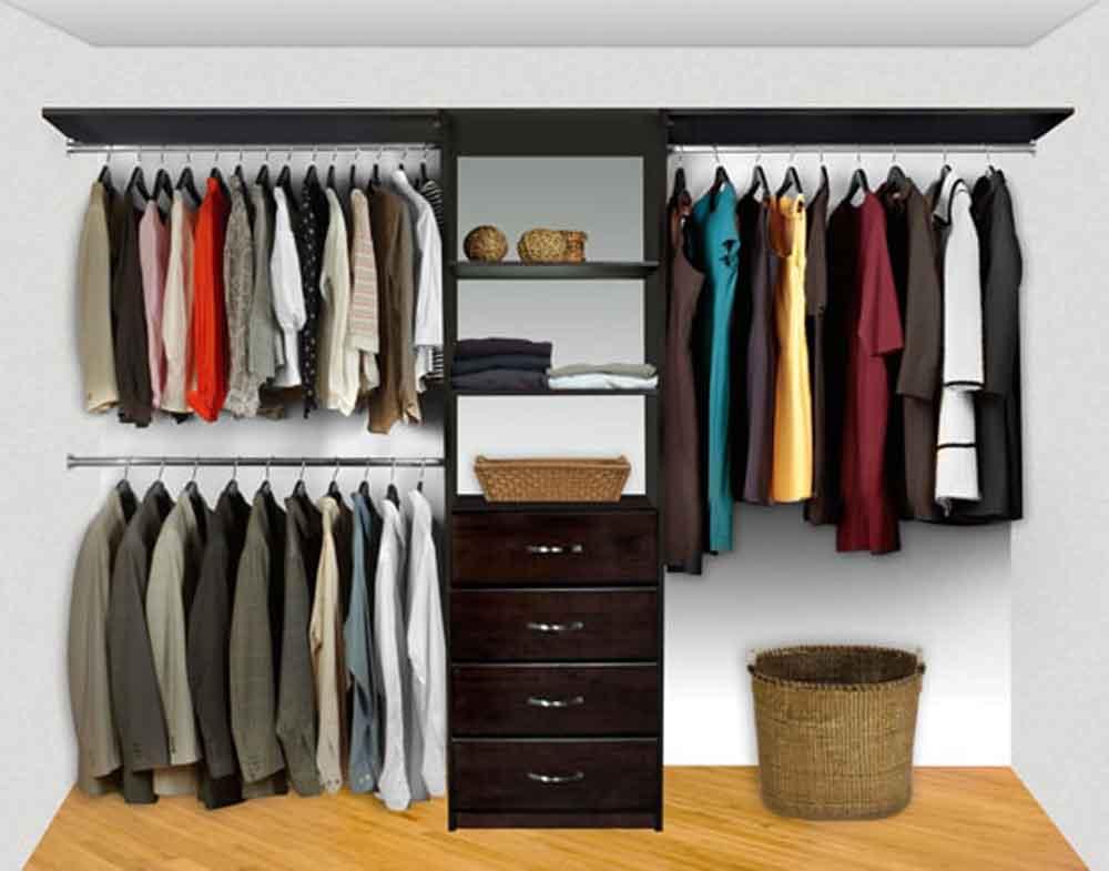 Closet System Pre-Config 3