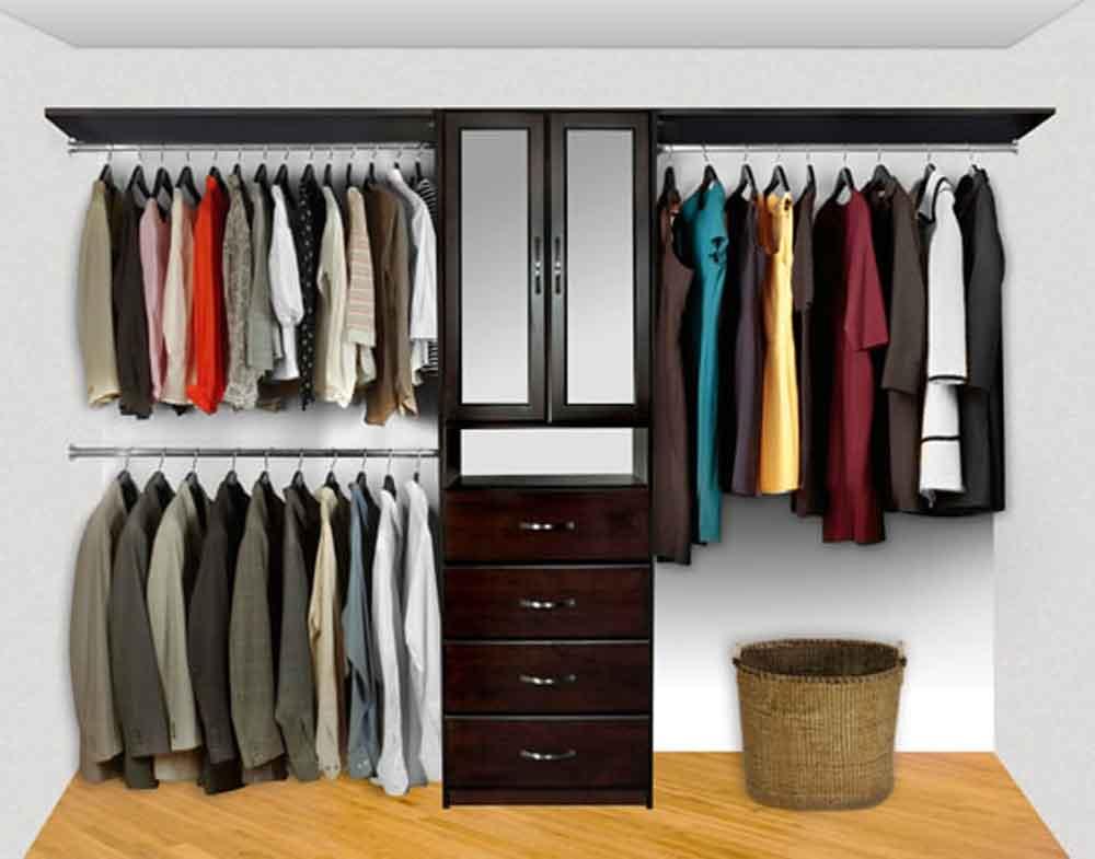 Closet System Pre-Config 4