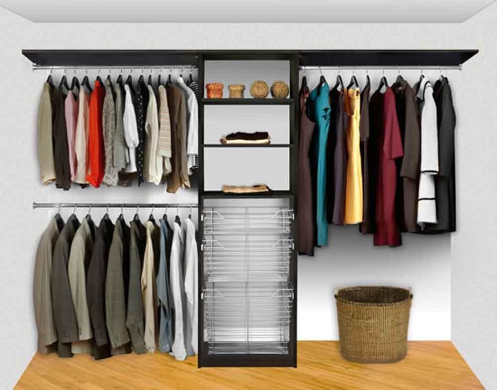 Closet System Pre-Config 6