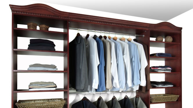 made closet built shelves custom closets in cabinets and quality walk garage adjustable reach