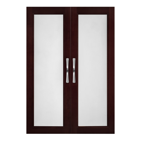Solid Wood Closets Closet Organizer Doors With Frosted Glass Walk
