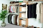 Reach In Closet Organizer System MAPLE