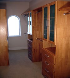 Walk In Closet Organizer with two Towers