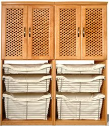 Closet Organizers Tower with Baskets