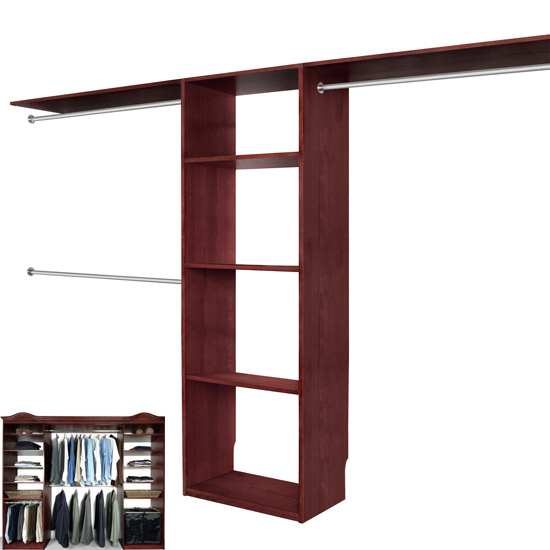 Charmant Walk In Closet Organizer System CHERRY