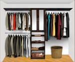 Walk In Closet Organizers Pre Configured #2