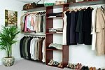 Walk In Closet Organizer System CHERRY